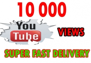 10000 (Worldwide) YouTube Views - 25$