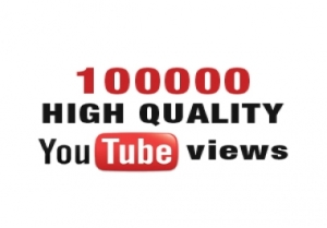 100000 (Worldwide) YouTube Views - 125$