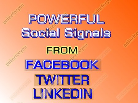 Social Media Promoting Services.