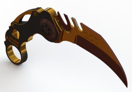BDSM Knife-ISO