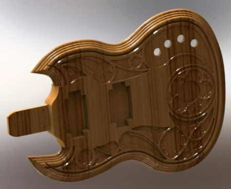 Guitar Body - A