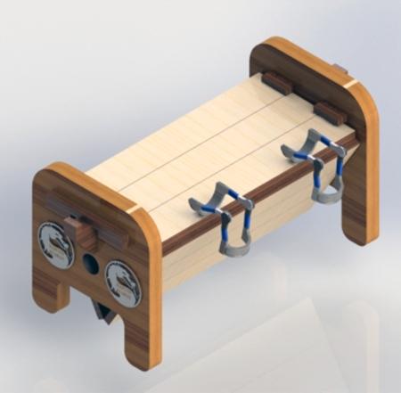 Tickling-Bastinado Rotating Rack