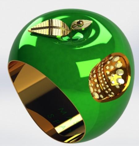 Apple Ring-B