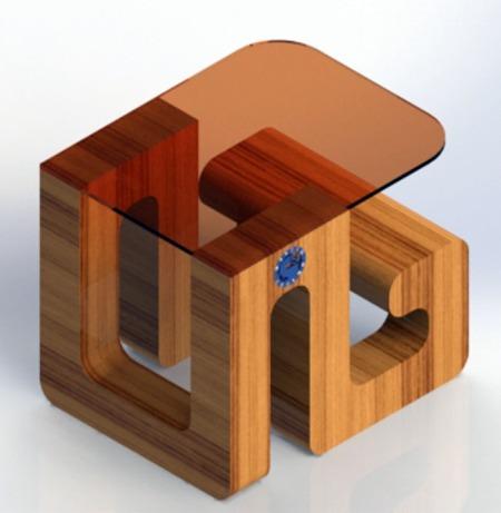 Modern Work Bench
