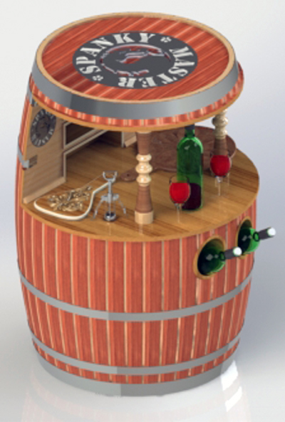 Wine Barrel Cabinet - A.JPG